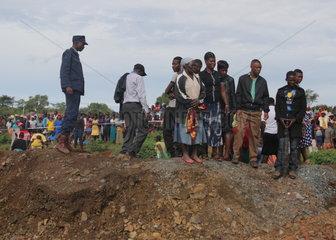 ZIMBABWE-MASHONALAND WEST-MINE FLOOD-RESCUE
