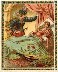 Dornroeschen  Illustration  1895
