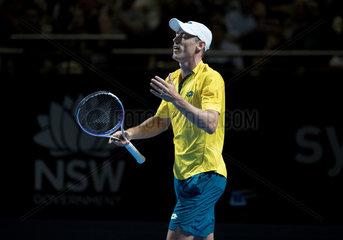 (SP)AUSTRALIA-SYDNEY-TENNIS-SYDNEY OPEN-FAST4