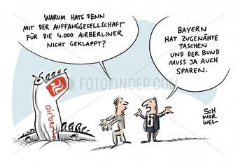 Insolvente Fluglinie Air Berlin : Keine grosse Auffanggesellschaft