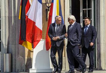 Ayrault + Steinmeier + Klimkin