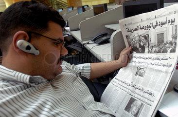 Kairo: Boerse