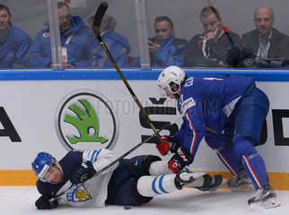 (SP)RUSSIA-ST. PETERSBURG-ICE HOCKEY-FRANCE VS FINLAND