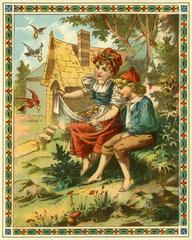 Haensel und Gretel  Maerchen  1895