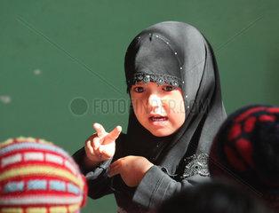 China  Kindergarten in der Autonomen Region Xinjiang Uygur