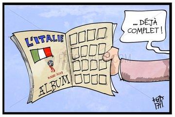 Russie 2018: un mondial sans l'Italie