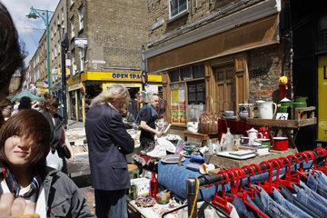 Brick Lane Market in London