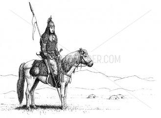 Mongolischer Krieger