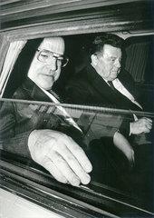 Helmut Kohl  Franz Josef Strauss  1985