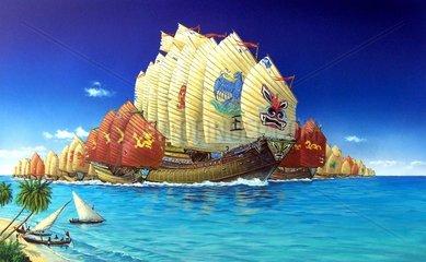 Kriegsflotte Admiral Zheng He