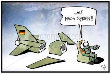 Militaereinsatz gegen Syrien?