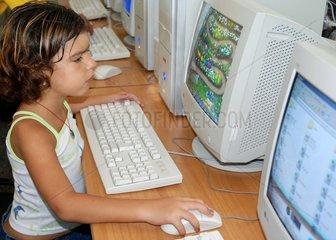Kuba  Kinder vor dem Computer