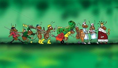 Ameisenparade
