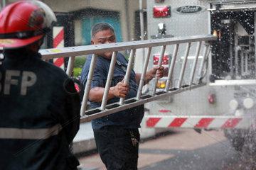 PHILIPPINES-QUEZON CITY-METRO MANILA SHAKE DRILL-EMERGENCY EXERCISE