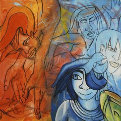 Peace Frieden Malerei art paiting symbol