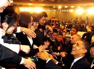 China. Staatsbesuch von US-Praesident Barack Obama