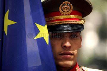 Afghanistan  Kabul  Besuch von Javier Solana