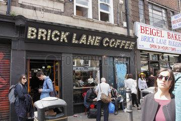 Brick Lane Coffee in London