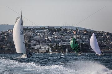 (SP)GREECE-ATHENS-SAILING