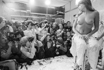 Photokina 1982 - Aktfotoworkshop mit Charles Wilp
