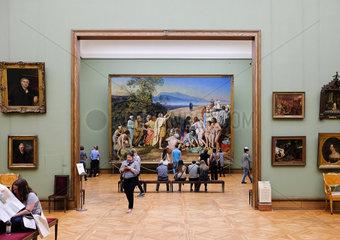 In der alten Tretjakov-Galerie