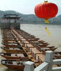 China  Guangdong  historische Bruecke