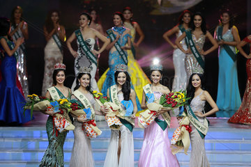 PHILIPPINES-PASAY CITY-2017 MISS PHILIPPINES EARTH