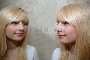 Girlie blond