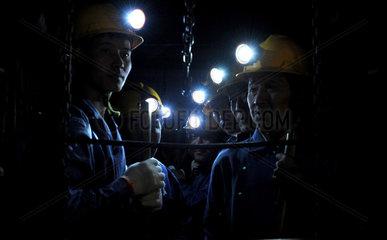 China  Bergbau-Unglueck in der Henan Provinz