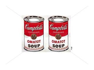 Fine Arts Object Print Warhol Campells