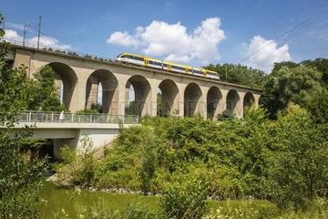 Schildescher Eisenbahn-Viadukt an der Bahnstrecke Hamm-Minden