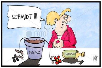 Glyphosat-Alleingang belastet die Groko