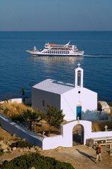ILLUSTRATION OF CRETE  GREECE