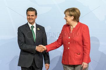 Pena Nieto + Merkel