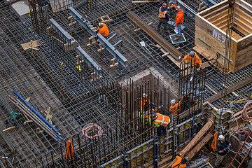 Baustelle in Manhatten