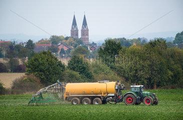 Guelle-Verteiliung in NRW