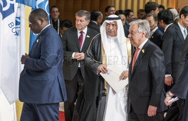 Sall + Ryder+ Bin Abdulaziz Al-Asaaf + Guterres