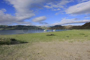Tolbo See in der Westliche Mongolei