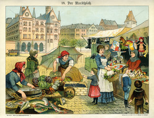 Marktplatz  1885