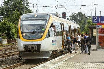 Regionalbahn Zug der Eurobahn