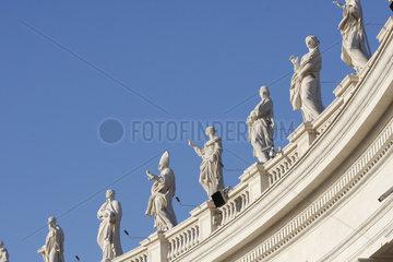 Staatue auf dem Petersplatz