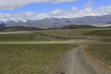 Piste in der Westliche Mongolei