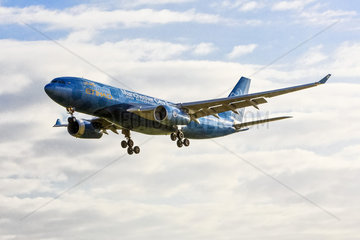 Etihad Airways Airbus A330-243 / painted in Manchester City Football Club
