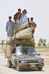 Dadu  Pakistan  Hochwasser-Katastrophe