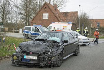 Unfall auf B 195