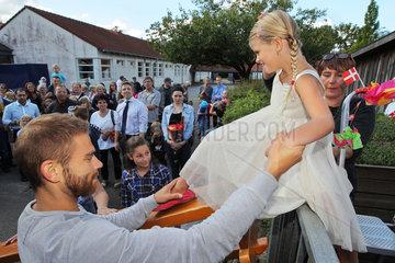 Flensburg  Deutschland  Einschulung an der Oksevejens Skolen