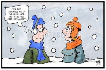 Alle reden ueber das Wetter