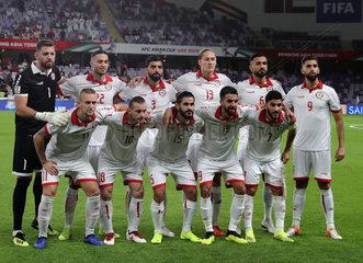 (SP)UAE-AL AIN-SOCCER-ASIAN CUP-QATAR VS LEBANON