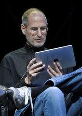 Amerika  Apple praesentiert den iPad