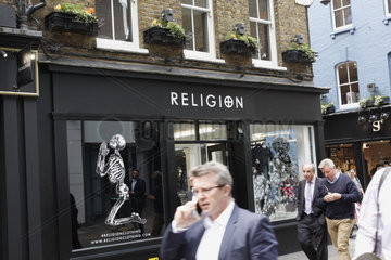 Religionclothing in London